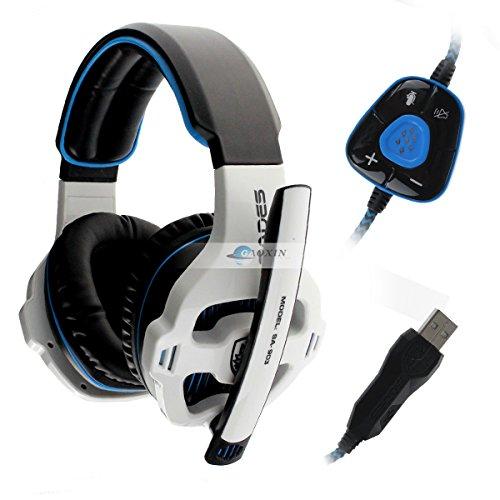Sades Sa-903 7.1 Surround Sound Effect Usb Gaming Headset Headphone With Mic