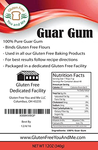 how to use guar gum in baking