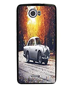 Techno Gadgets Back Cover for Micromax Canvas 2 A110