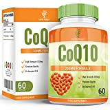 COQ10 200mg, Coenzyme Q10 Supports Your Cardiovascular System, Boosts Your Immune System, Provides Pain Relief and Combats Exercise Fatigue - 60 Coenzyme Q10 Capsules