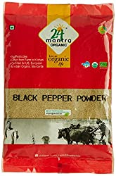 24 Mantra Organic Black Pepper Powder, 100g