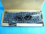 DELL メンブレン式キーボード 109キー USB ( L100 / SK-8115 ) 日本語対応 排水機構搭載 (ブラック)