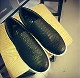 (フルールドリス)Fluer de lis スネーク ブラック スリッポン スニーカー 靴 シューズ 婦人靴 アパレル レディース ファッション 服 263-k1-2042
