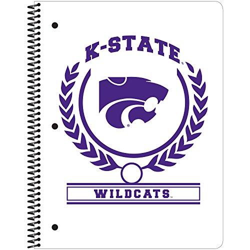 C.R. Gibson 1-Subject Spiral Notebook, Kansas State Wildcats, White (C942967WM) kansas state university kansas state wildcats distressed motorola droid 2 skinit skin