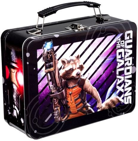 Vandor 26470 Marvel Guardians of the Galaxy Large Tin Tote, Multicolor - 1