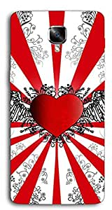 DigiPrints Designer back cover for One Plus 3