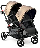 Contours Options Elite Tandem Stroller, Sand
