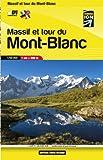 Massif et Tour du Mont Blanc Carte en Poche