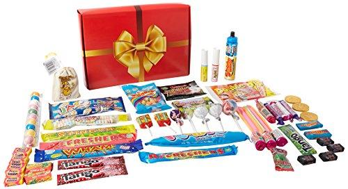 a-quarter-of-already-wrapped-bumper-retro-sweets-selection-box-730g