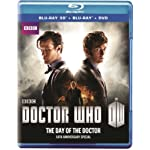 [US] Doctor Who: The Day of the Doctor (2013) [Blu-ray 3D + DVD]