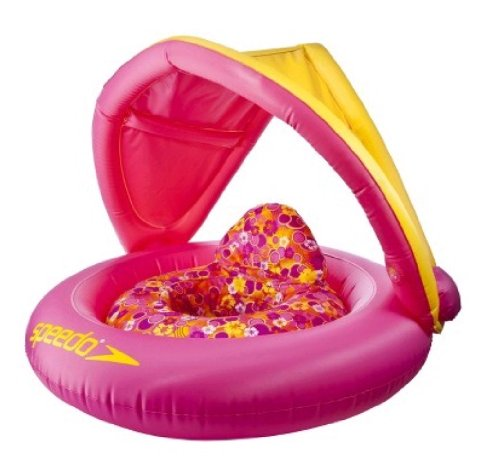 Fabric Baby Float - Pink