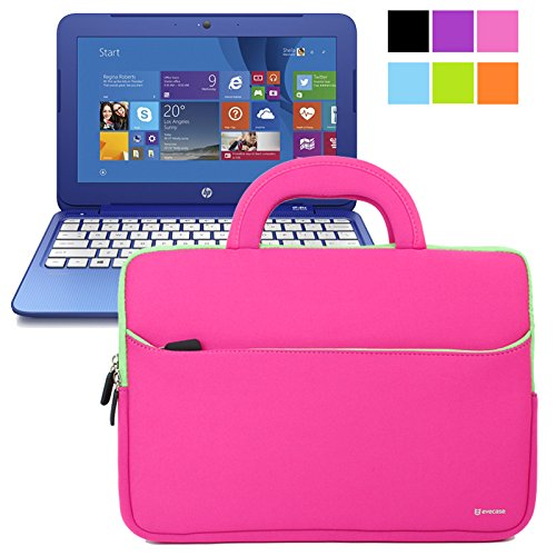 Cheapest Price! Evecase HP Stream 11 UltraPortable Handle Carrying Portfolio Neoprene Sleeve Case Ba...