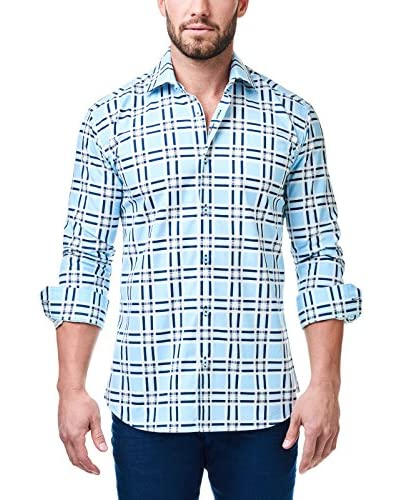 Maceoo Men's Luxor Check Shirt