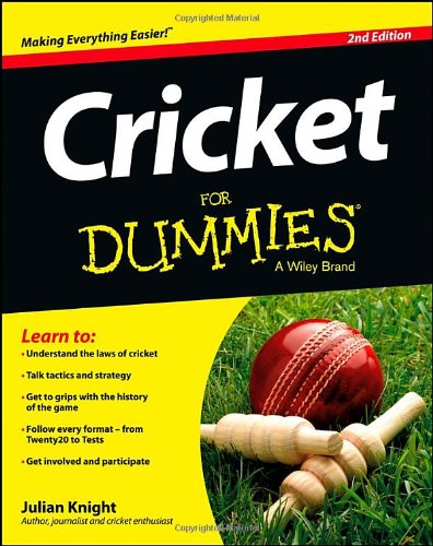 Sporting Goods Stores Cricket For Dummies (For Dummies (Sports & Hobbies))