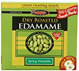 Seapoint Farms DRy Roasted Edamame, Spicy Wasabi, 6.35 Ounce (Pack of 12)