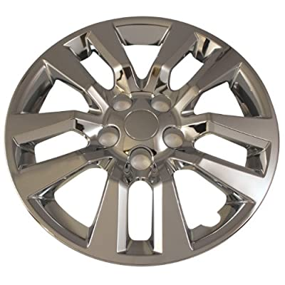 "Set of 4 Chrome 16"" inch 2013 -14 Nissan Altima Lug Bolt on Hub Cap Wheel Covers"