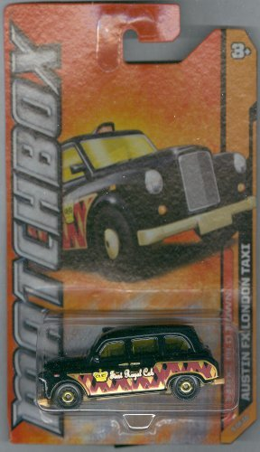Matchbox 2012-65 MBX Old Town Austin FX London Taxi Black 1:64 Scale