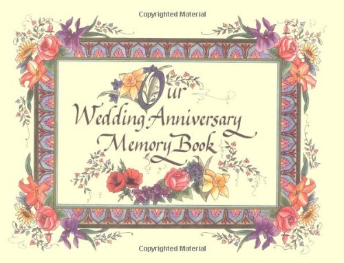 Wedding Anniversary Personalized Book