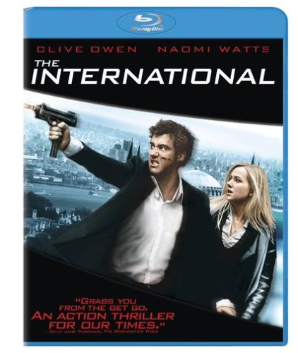 Cover art for  The International [Blu-ray]