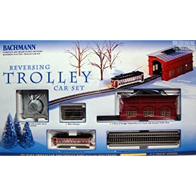 Bachmann trains reversing ho scale trolley car set
