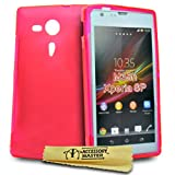 Accessory Master Hard Shell Case Silicone Gel for Sony Xperia Sp