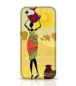 Style baby Tribal Lady Apple iPhone 6 Phone Case