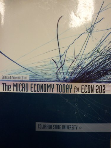 The Micro Economy Today (Colorado State University) [Selected Materials]