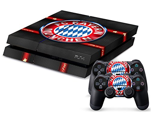 ps4-playstation-4-console-controller-decal-sticker-skin-set-bayer-munich-fc-carbon-model