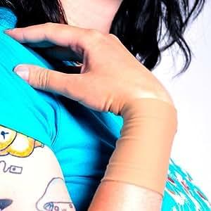 "Amazon.com : Tat2X Ink Armor Wrist 3"" Tattoo Cover Up Sleeve - Light - XL2X - Made in USA - UV"