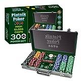 51yrGqzUW9L. SL160  Piatnik 790393   Pro Poker Alukoffer 300 High Gloss Chips