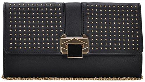 Mms Design Studio Envy Women'S Black Clutch