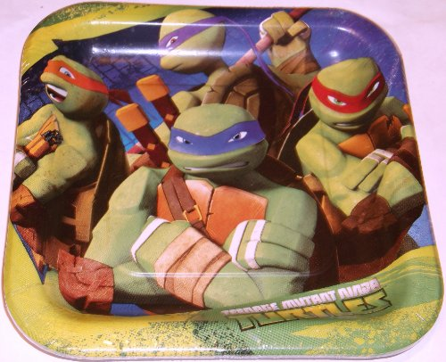 Learn More About Ninja Turtles Dessert Plates