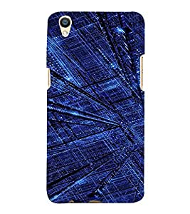 PrintVisa City Art Pattern 3D Hard Polycarbonate Designer Back Case Cover for Oppo F1 Plus