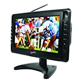 SuperSonic Portable LCD Digital AC/DC TV 10-Inch