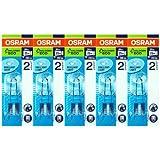 5 Stück Osram Halopin Energy Saver G9 klar 66720 ECO Halogenlampe 20W/230V