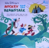 Walt Disney's Mickey And The Beanstalk ~ The Complete Story and all the Songs with the Original Cast (Original 1963 LP Vinyl Album)