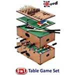 UKayed � 5 in 1 Deluxe Games Table -...