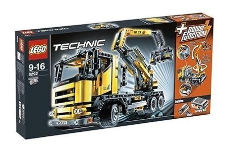 LEGO - 8292 - Technic - Jeux de construction - Le camion élévateur motorisé