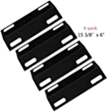 99351(4-pack) Porcelain Steel Heat Plate Replacement for Select Ducane Gas Grill Models