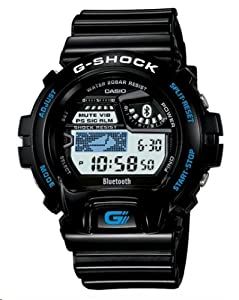 Casio G Shock Gb-6900 Bluetooth 4.0 Watch (Black) Fast Shipping By Fedex