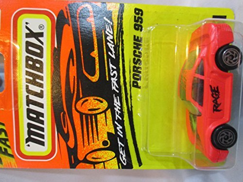 1996 Matchbox Superfast Porsche 959 Green #51