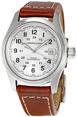 Hamilton Khaki Field Silver Dial Mens Watch H70455553
