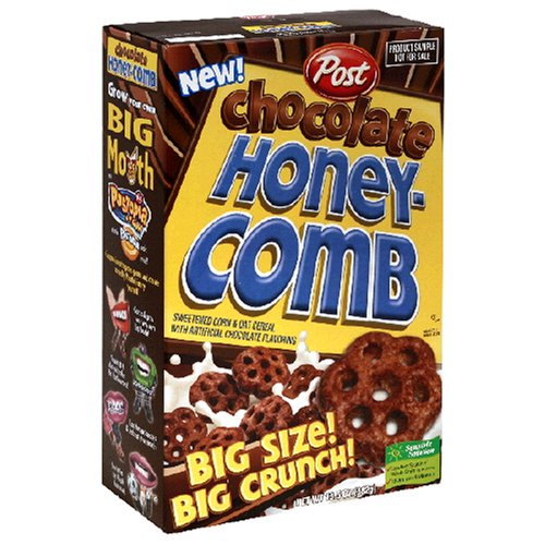 Amazon.com: Post Honeycomb Cereal, Chocolate, 13.5-Ounce