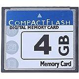 niceEshop(TM) Professionell 4GB Compact Flash Speicherkarte (Weiß & Blau)