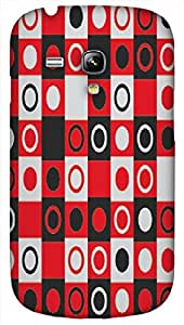 Timpax protective Armor Hard Bumper Back Case Cover. Multicolor printed on 3 Dimensional case with latest & finest graphic design art. Compatible with only Samsung I8190 Galaxy S III mini. Design No :TDZ-21545