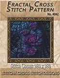 Fractal Cross Stitch Pattern No. 4042