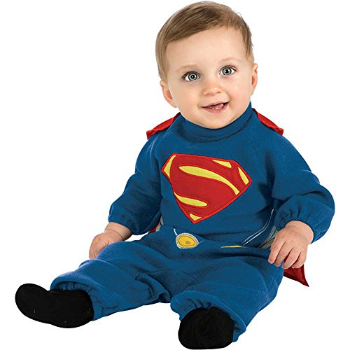 Man of Steel: Superman Romper Toddler Costume - Toddler