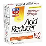 Rite Aid Pharmacy Acid Reducer, Maximum Strength, Tablets, 95 tablets