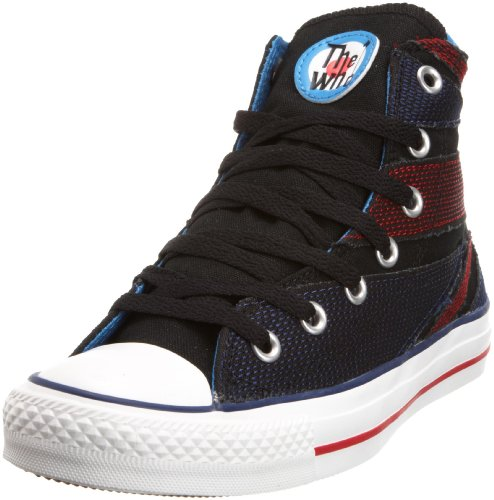 Converse Unisex Adult Chuck Taylor All Star Speciality Hi The Who Black/Multi-Coloured Trainer 117368 9.5 UK