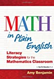 img - for Math In Plain English: Literacy Strategies for the Mathematics Classroom book / textbook / text book